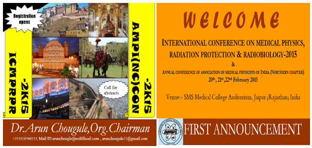 international Conference on Medical Physics, Radiation Protection and Radiobiology, 2015